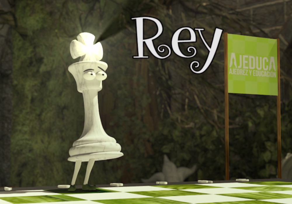 Hoy podemos aprender el movimiento del REY en nuestro canal de YOUTUBE.  Muy didáctico