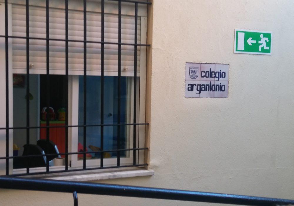 AJEDUCA en el Colegio Argantonio.
